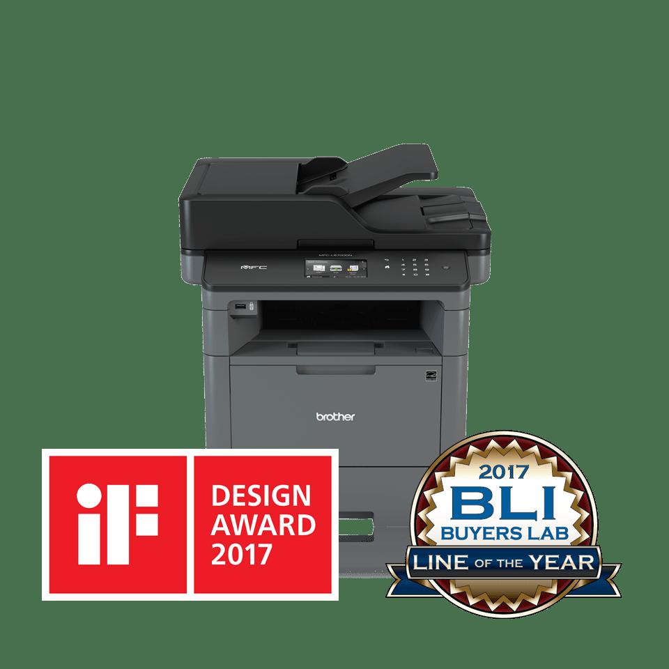 Impresora multifunción láser monocromo MFC-L5700DN, Brother