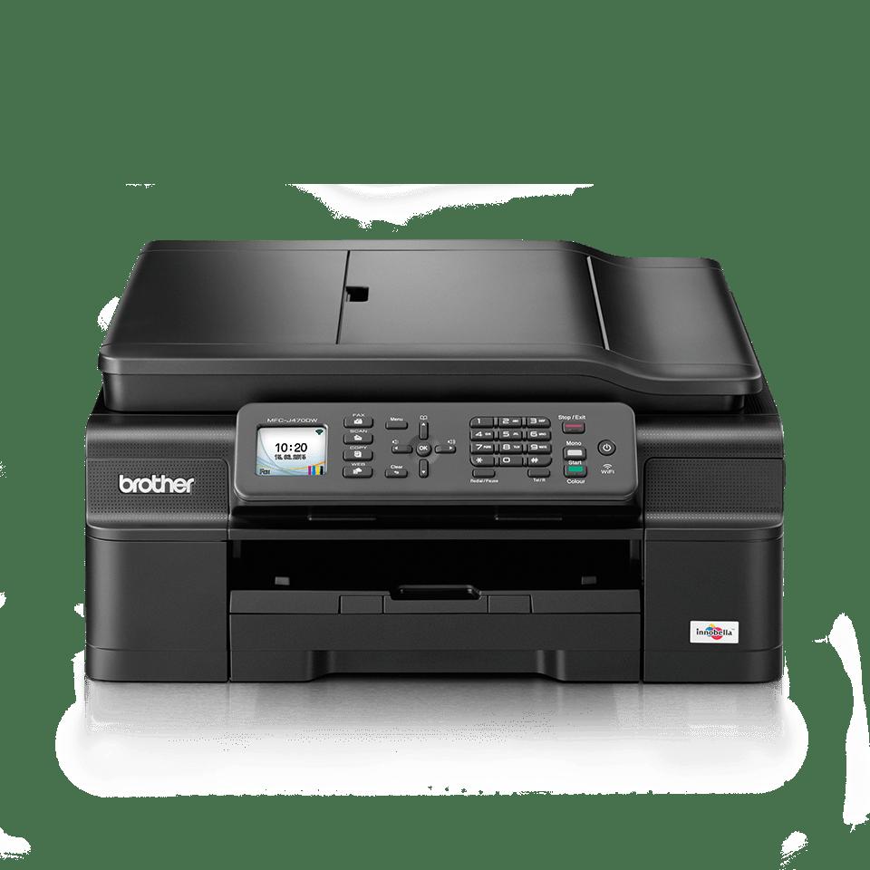 MFCJ470DW Impresora, copiadora, escáner y fax de tinta A4