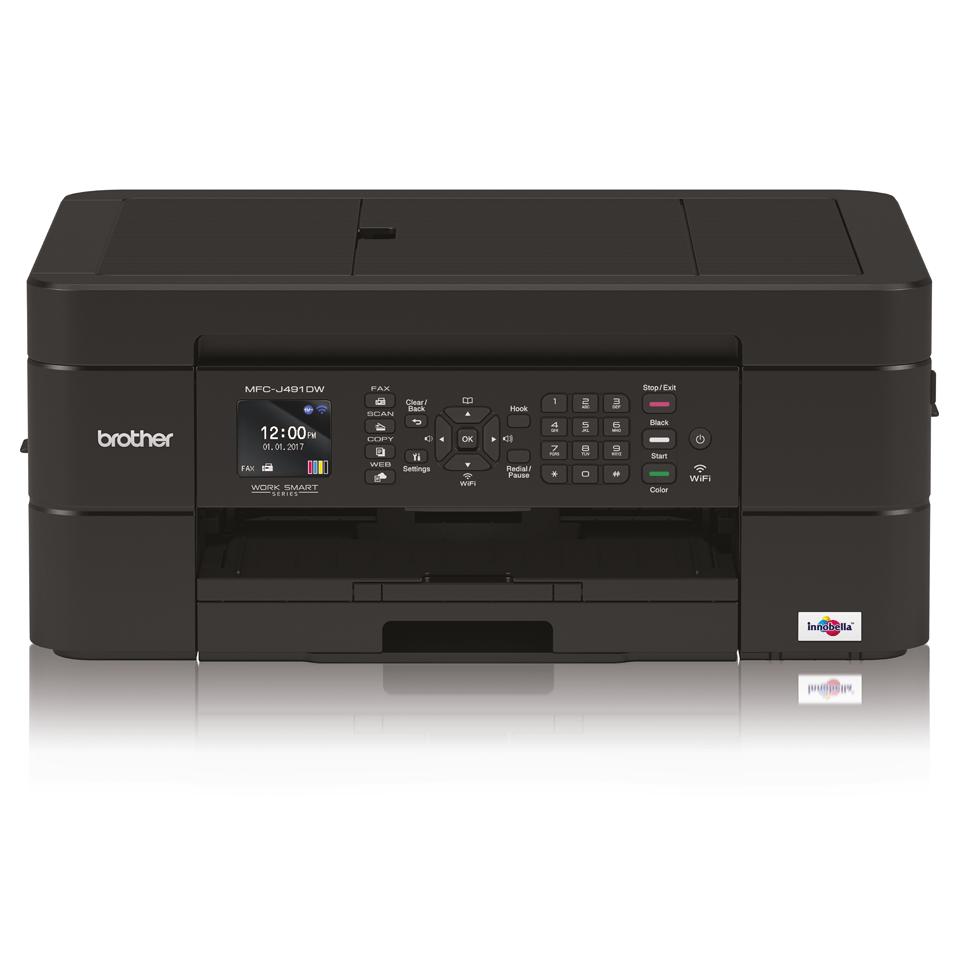 Impresora multifunción tinta MFC-J491DW Brother