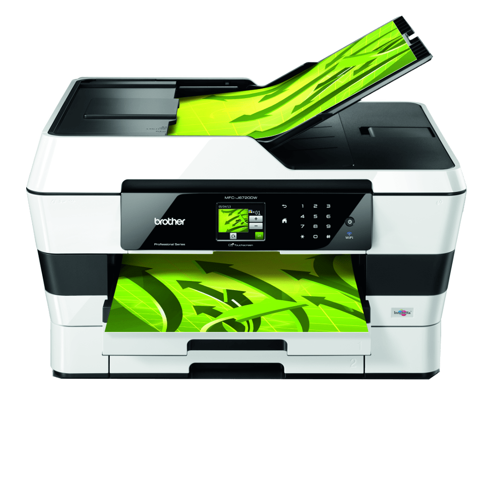 Multifunción fax profesional WiFi tinta A3 MFCJ6720DW