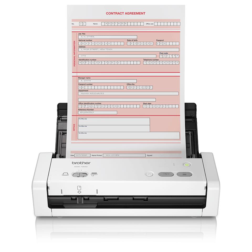 Escáner compacto ADS-1200 Brother