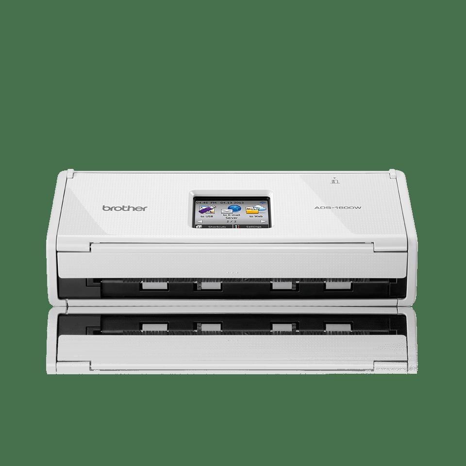 Escáner departamental compacto a doble cara automático