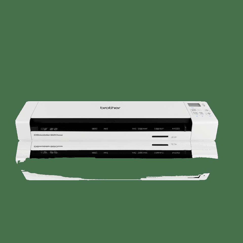 Escáner portátil de documentos A4 a doble cara en color DS920DW