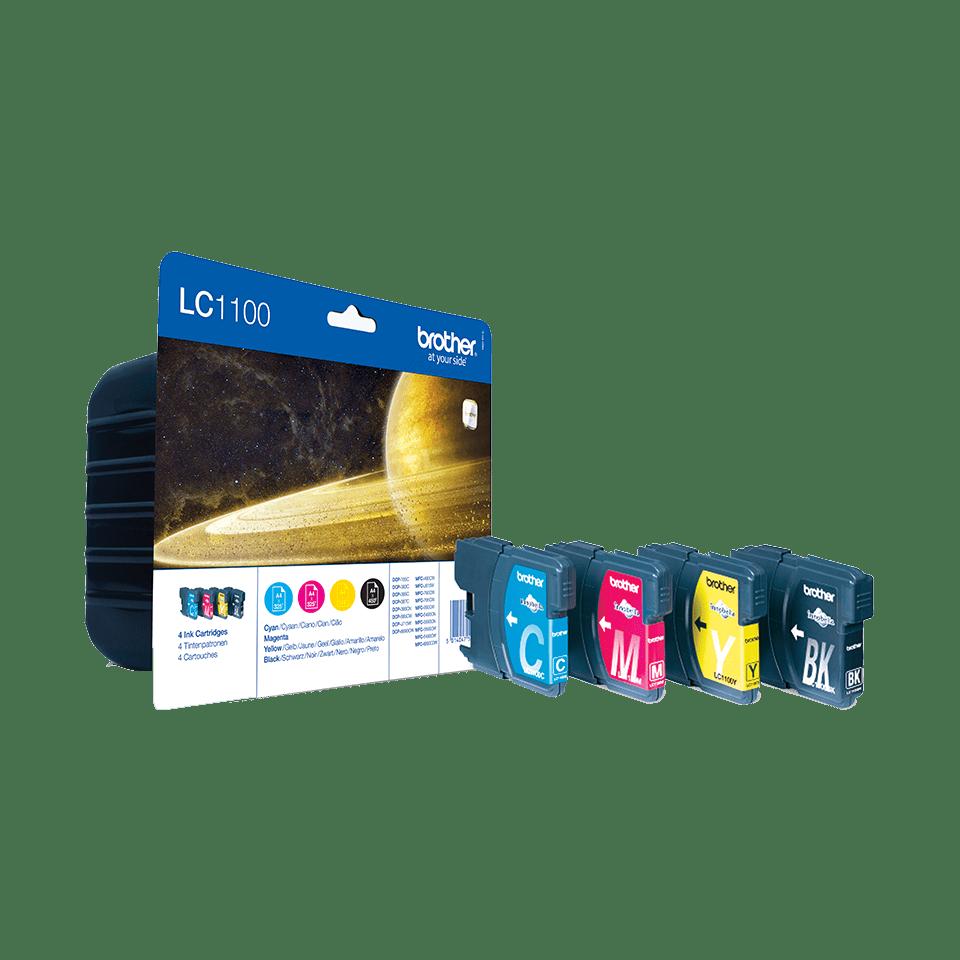 Pack de 4 cartuchos de tinta Innobella™ LC1100VALBP