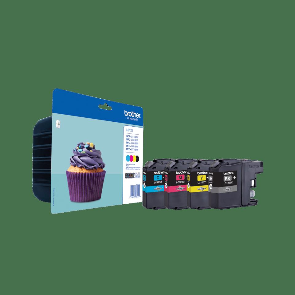 Pack de 4 cartuchos de tinta Innobella™ LC123VALBP