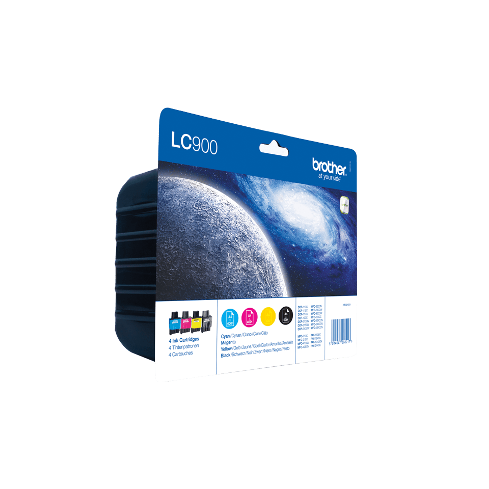 LC900 Pack 4 cartuchos 2