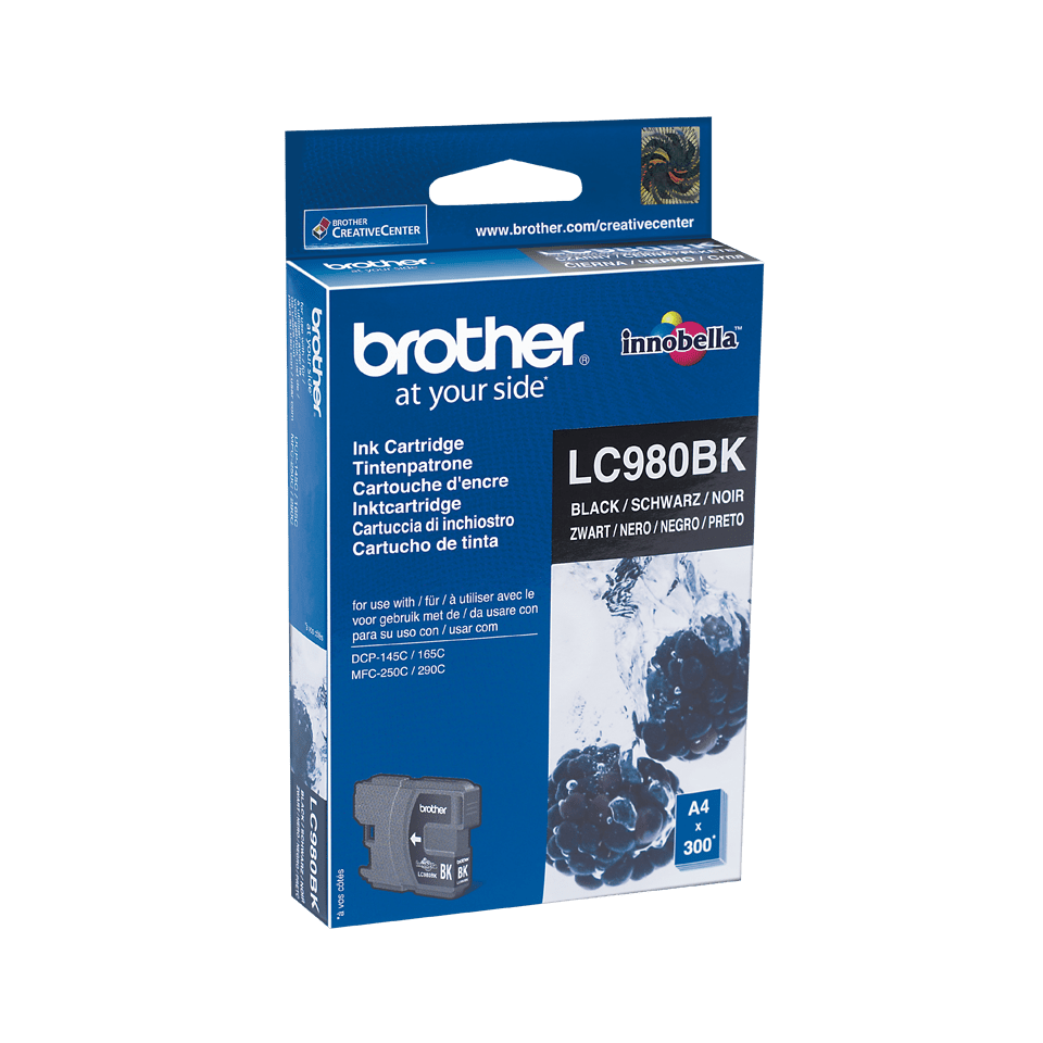 LC980BK Cartucho tinta Negro