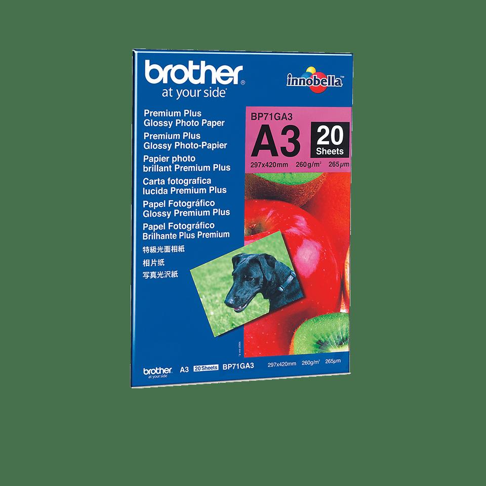 BP71GA3 Papel Fotográfico Glossy Premium A3