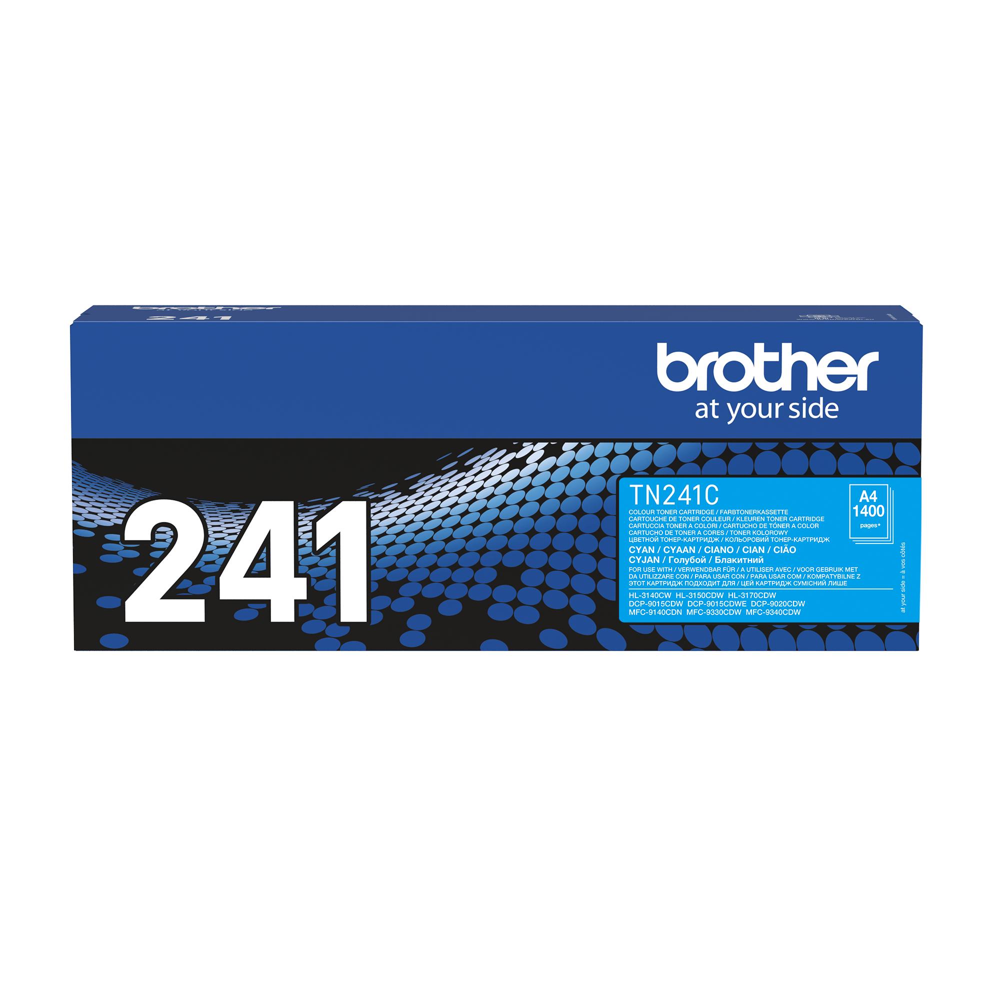 Tóner cian TN241C, Brother