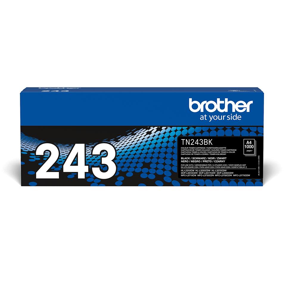 Tóner negro TN243BK, Brother