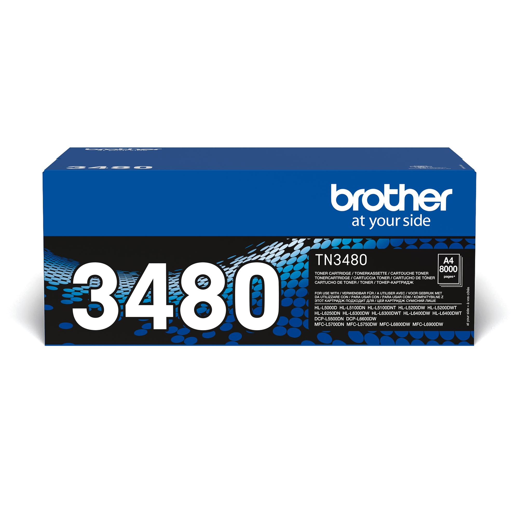 Tóner Negro TN3480