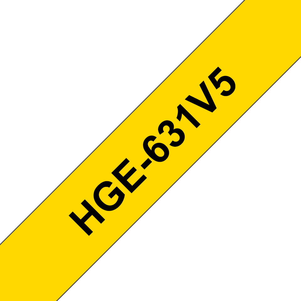 HGE631V5 Cinta HGe de alta resolución de impresión