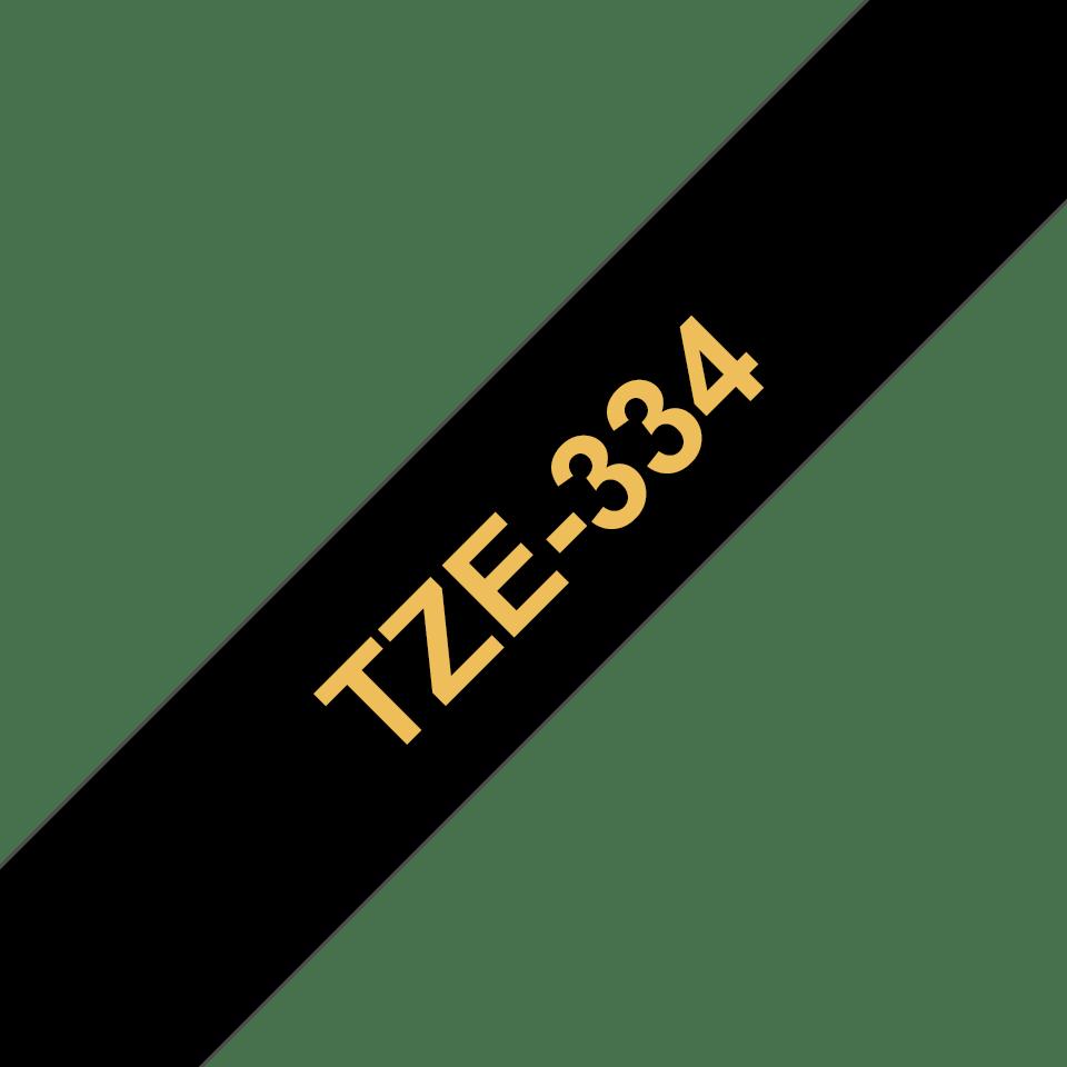 Cinta laminada TZe334 Brother