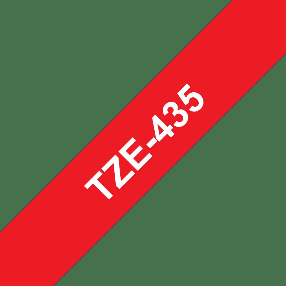 Cinta laminada TZe435 Brother