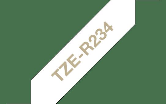 Cinta de tela satinada no adhesiva TZeR234 Brother