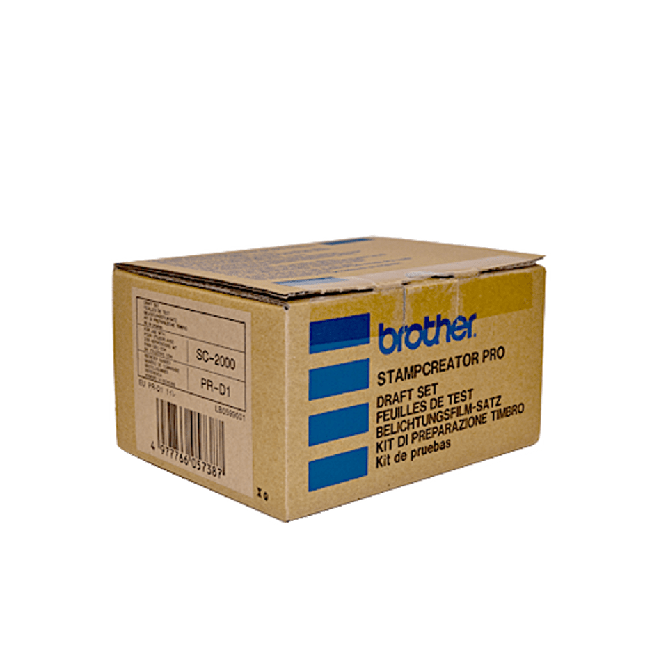 150 fotolitos, cinta térmica y 9 limpiadores - PRD1